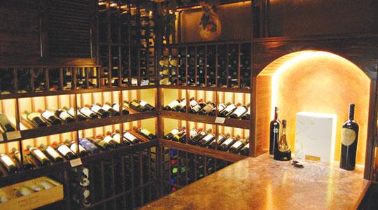 Wine cellar lighting French Style Wine Elemental Led Using Flexible Led Lights To Light Wine Cellar Elemental Led