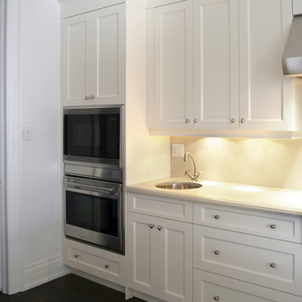 Consider your space ahead of time to take advantage of for Advantage kitchen cabinets