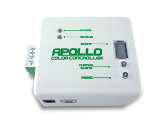 The Apollo DMX LED Color Controller