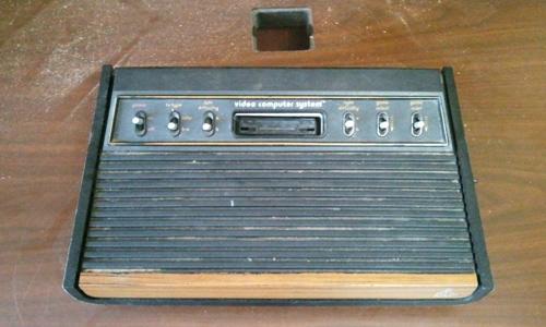 Atari Console Before Shot