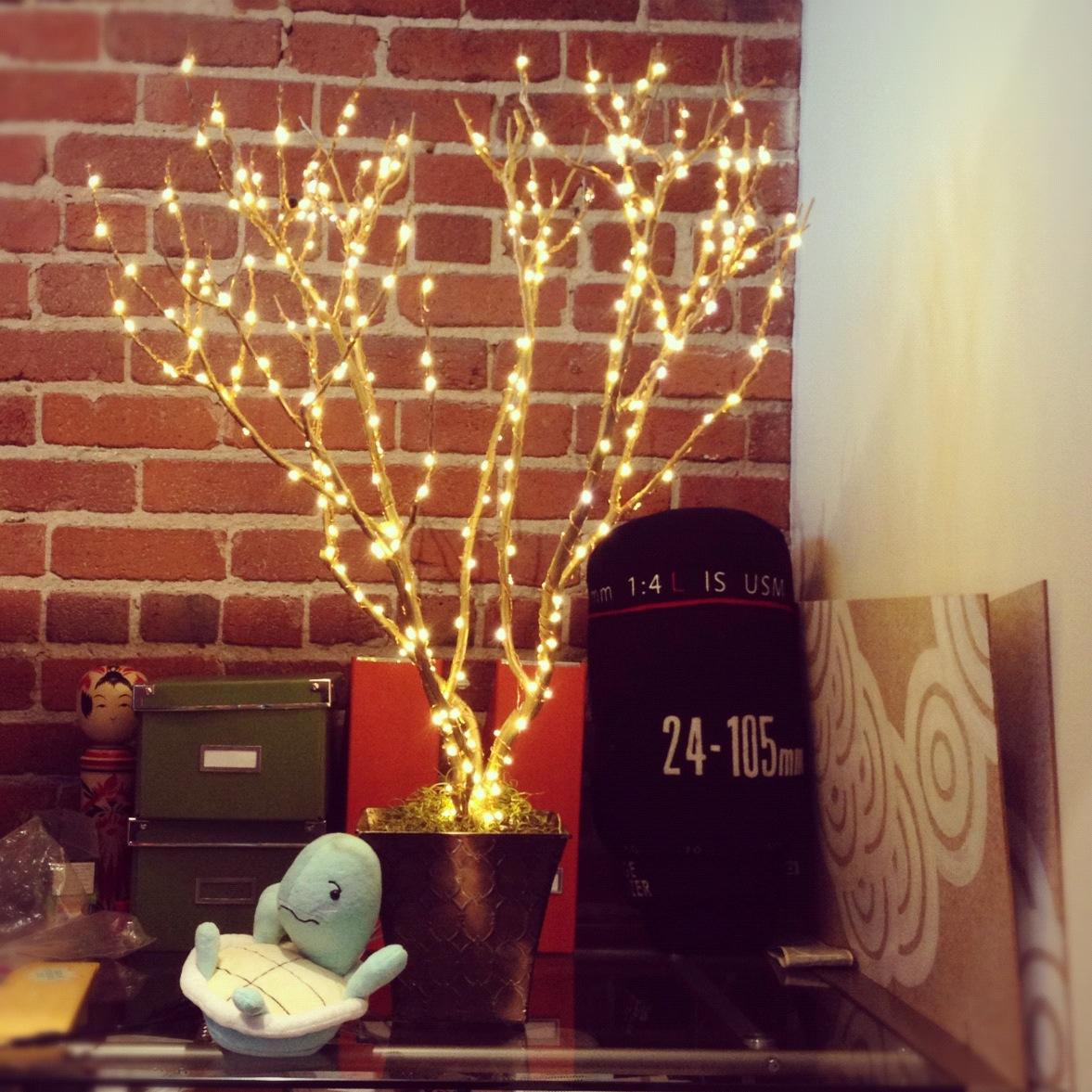 Rachel 39 s celebright holiday led lights tree decor - Led lights decoration ideas ...
