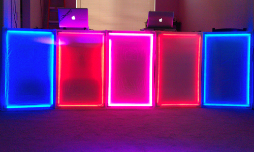 Portable Interactive Led Dj Panels