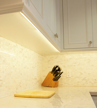 Installing Under Cabinet Lighting