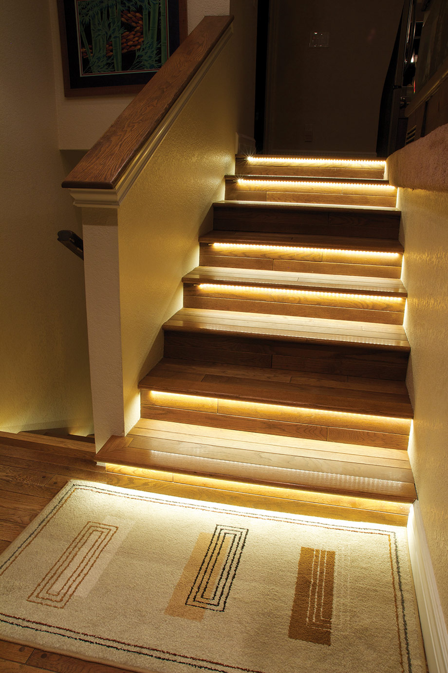 Ambient Staircase Lighting